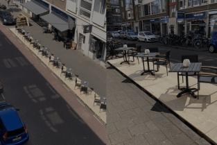 Terras Rotterdam Van Pallets