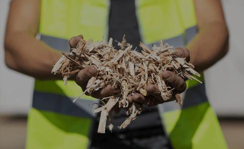 Houtsnippers Voor Biomassa